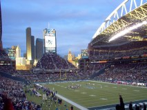Seahawks stomping the 49'ers - Gina Lockhart